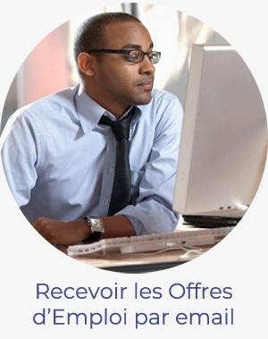 Recevoir les offres d'emploi par email
